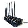 China 15W High Power Adjustable 3G Mobile Phone VHF UHF Walkie-Talkie Jammer for sale