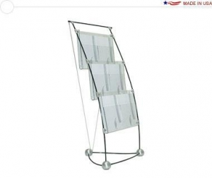 China Trade Show Furniture Space Penguin Brochure Rack on sale