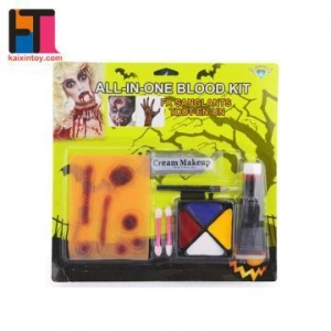 China 10250997 all in one easy wholesale Halloween makeup face paint kit on sale