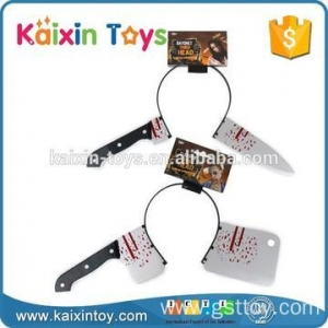 China 10251928 New Arrival Horrible Bleeding Halloween Plastic Axe For Party on sale