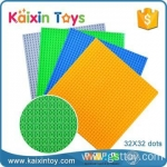 ABS plastic material 32*32 dots building block base plate for assembling