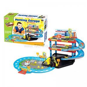 China Power Control DIY toy city car parking parking lot toy car parking garage toy on sale