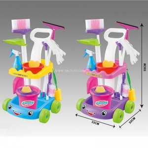 China Happy children's house toys cleaning set on sale