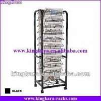 China KingKara KANR01 Wire Newspaper Holder With Advertising Board on sale