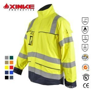 China FR textile jackets for men winter on sale