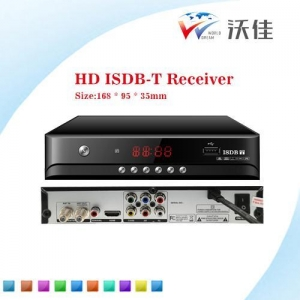 China philippines/ Argentia/ South Africa H.264 hd ISDB-T converter/ digital tv receiver on sale