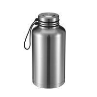 China Custom personalized best insulated stainless steel beer growler thermos with handle on sale
