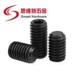 Carbon steel grub set screw high tensive black DIN913