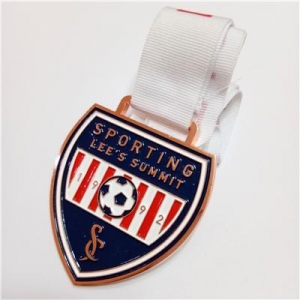China New Design award medal customized football medals on sale