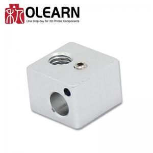 China 3D Printer Part Aluminum V5 Heating Block For Rerap 3D Printer Extruder on sale