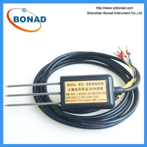 China RS485 Moisture / Electric Conductivity / Temperature 3 in 1 Soil Sensor on sale