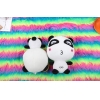 China Cute small size stuffed plush panda animal for sale