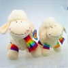 China Cute white china plush toy factory sheep baby animal sheep toys plush for sale