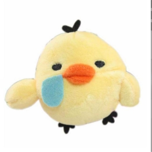 China fat yellow duck toy,plush stuffed duck keychains,plush duck keychain on sale