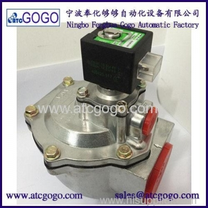 China ASCO Type 2 Inch Right Angle Pulse Diaphragm Valve Aluminum Alloy Solenoid Valve on sale