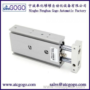 China Dual Rod Pneumatic Air Cylinder Bore 32mm Stroke 50mm Double Acting Single Acting Cylinders on sale