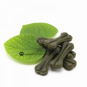 China 100% Natural Mint Flavor Knotted Bones Dog Chew on sale