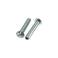 China Blue Zinc Combo Truss Head Sex Bolts, Female Barrel Nuts, Chicago Screws on sale
