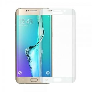 China Samsung Galaxy S6 Edge Color Tempered Glass Screen Protector on sale