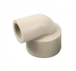 China Plastic Pipe Fitting PPR Reducing Elbow on sale