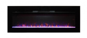 China Fully Insert Electric Fireplace W914-48F on sale