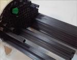 Pultrusion square carbon fibre tubes