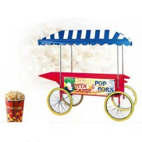 China China Manufacture Popcorn Cart on sale