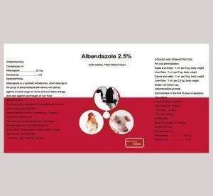 China Oral Solution Albendazole oral suspension 10% on sale