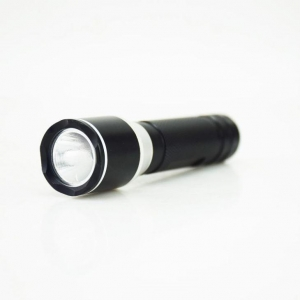 China Duracell Battery LED Focus Flashlight on sale
