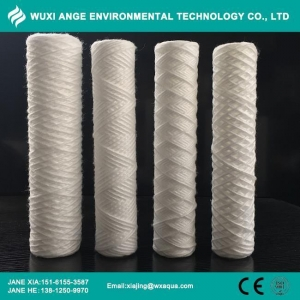 China PP Cotton String Wound Water Filter Cartridges on sale