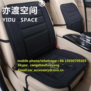 China Heated car seat cover Universal style 12V car seat heating mat on sale