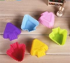 China Silicone Baking Cup Christmas Tree Shape on sale
