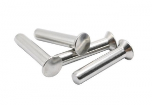 China Flat countersunk head solid rivets on sale