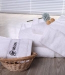 Towels Towels-Dobby band with logo embroidery