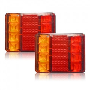 China Car Truck LED Rear Tail Light Warning Lights Rear Lamps Waterproof Tailight Parts on sale