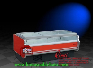 China Plugin Fresh Meat Cabinets Kimay 09E6 Fresh Meat Display Chiller Freezer on sale