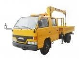 China Construction Truck Knuckle Boom Crane truck JMC on sale