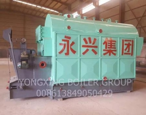China Fire Tube Chain Grate Biomass, Wood Pellet Steam Boiler to Replace the Coal Fired Steam Boiler on sale