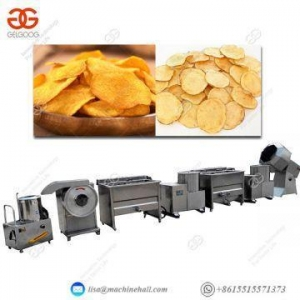 China Potato Chips Production Line Frozen Fries Processing Plant on sale