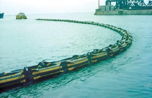China Solid rubber booms float on sale