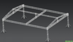 China Qiangyu truss stage renderings on sale