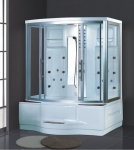 AD-945 High Quality Solid Wood Dry and Wet Steam Sauna Room Steam