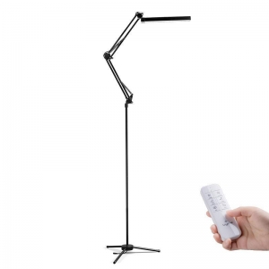 China UYLED Matel swing arms led floor lamp with remote control on sale