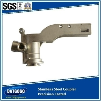 China Investment Cast Keg Coupler CNC Machined on sale