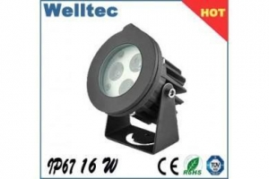 China led underwater light for swimming pool MR16 1W led pool light on sale