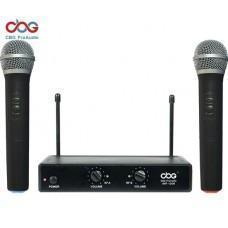 China iWF-120 UHF Dual Channel Wireless Microphone on sale