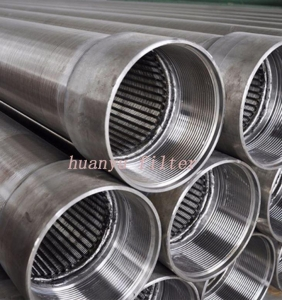 China 316L Stainless Steel Johnson Well Casing Screen Pipe on sale