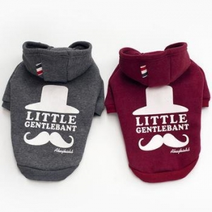 China Wholesale New Fashion Custom Cotton Pet Sweatshirt Hoodie Dog Clothes on sale