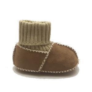 China sheepskin soft sole infant baby shoes on sale