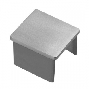 China Square Channel Tube End Cap on sale
